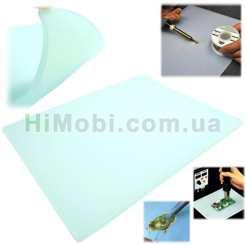 35b22e06f1868 Теплоизоляционный силиконовый коврик для ремонта телефонов 350*230*4 ...