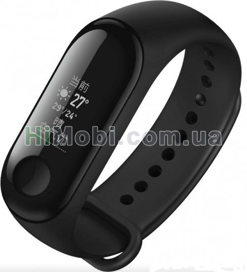 Фитнес браслет Xiaomi Mi Band 3 Black (XMSH05HM)