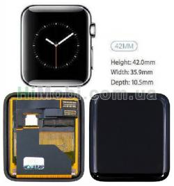 Дисплей для Apple Watch 42mm с сенсором (series 1)